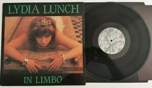 LYDIA-LUNCH-IN-LIMBO-Vinyl-LP-DVR5-1984-mini-album-Rock-Punk-New-wave-EX-Rare