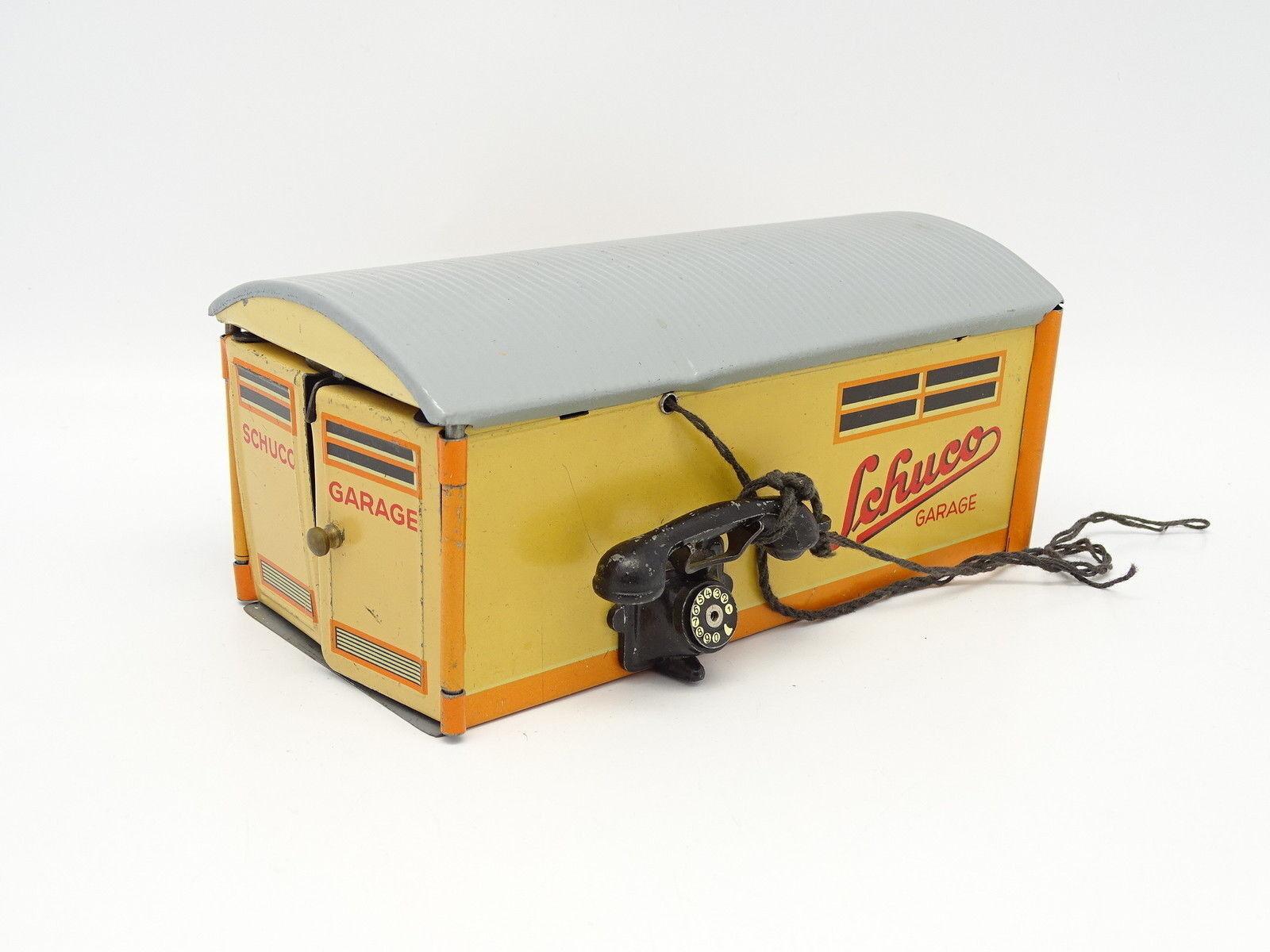 Schuco chapa de metall con llave - garaje 1500