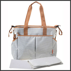 Image Is Loading Large Designer Baby Changing Bag Ny Diaper Bags