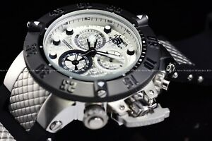 Invicta-Men-039-s-50mm-Subaqua-Noma-III-Antique-Silver-Swiss-Mvmt-034-Full-Moon-034-Watch