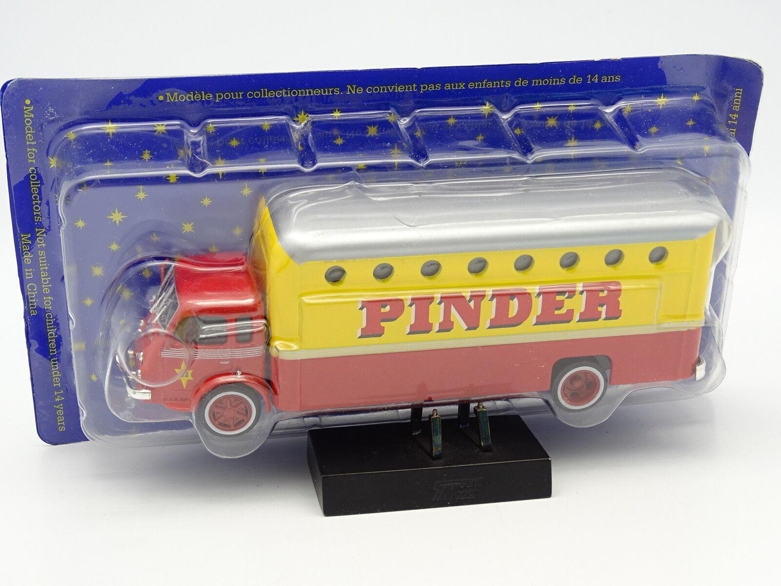 Altaya Circo Pinder 1 64 - Renault R 4220 4220 4220 camión habitación green 7605b5