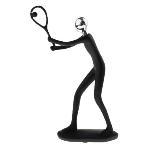 Abstract Sculpture Sports Figurines Player Figure Living Room Decoration