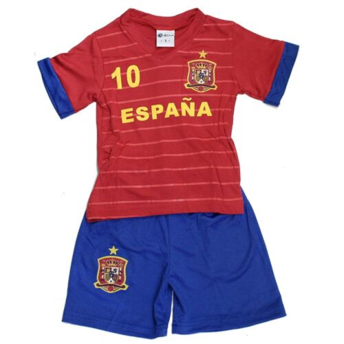 Short Spanien    neu Fußball Kleinkinder Set Trikot