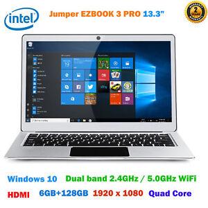 Jumper-EZBOOK-3-PRO-13-3-034-Intel-2-4GHz-Windows-10-128GB-HDMI-Notebook-Laptop-PC