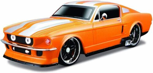 Maisto R//C 1 24 Scale 1967 Ford Mustang Gt Radio Control Vehicle Colors// Mhz Ma