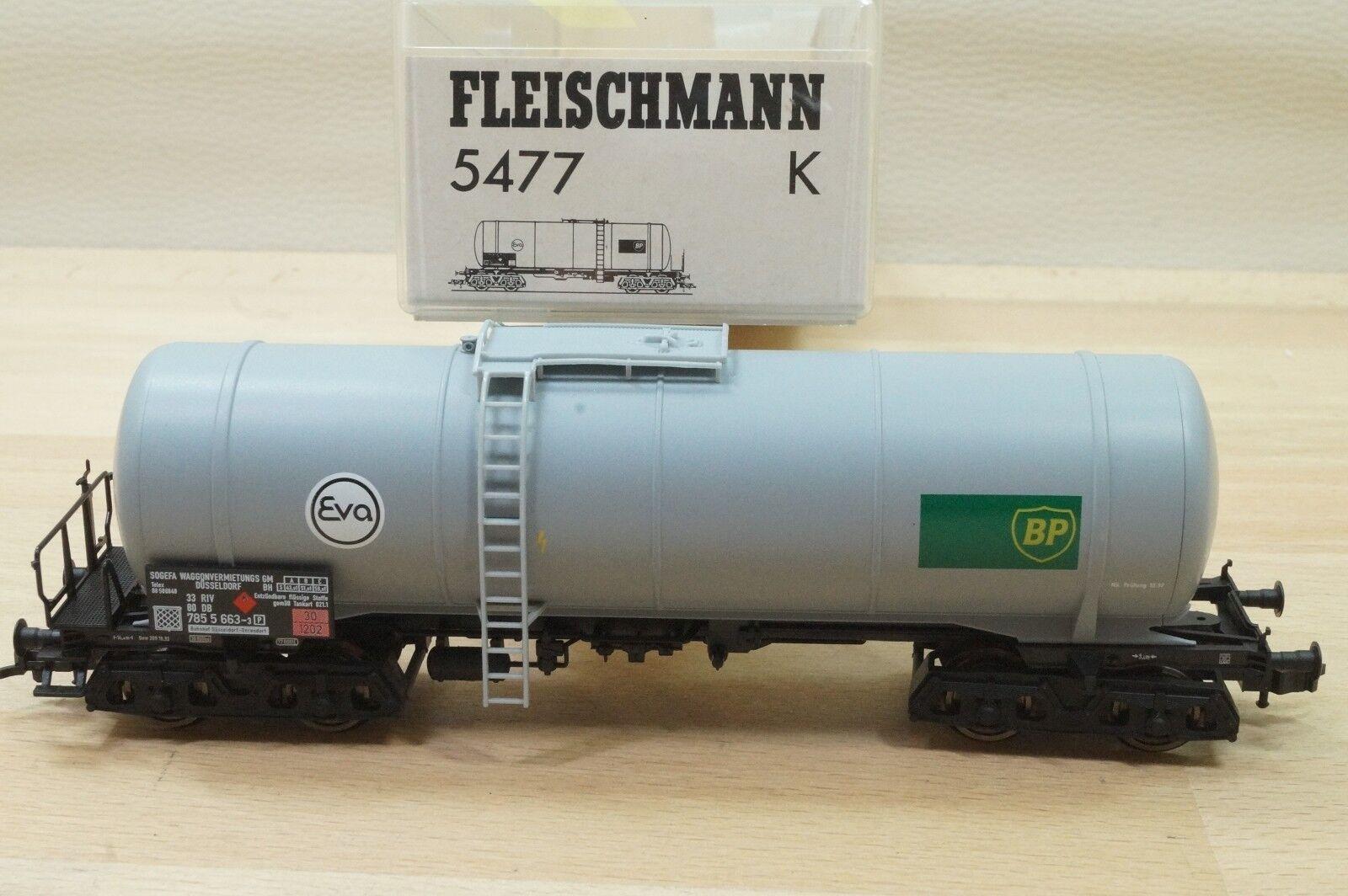 Fleischmann 5477 K Kesselwagen BP   Eva   33 80 785 5 663-3 RIV der DB in OVP