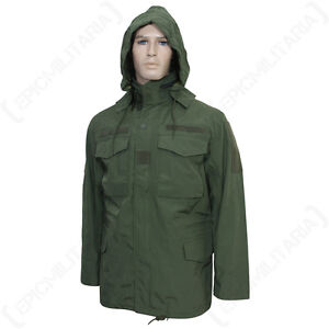 Us Olive M65 Field Jacket Winter Waterproof Windproof