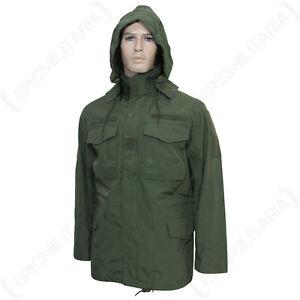 Us Olive M65 Field Jacket Winter Waterproof Windproof