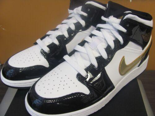 Noir Se 11 Air Cuir Mid Sz 1 Nike Jordan Verni Or SXUqwI