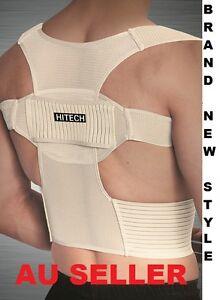 New-Adjustable-Shoulder-Back-Support-Brace-Belt-Vest-Correct-Posture-Corrector