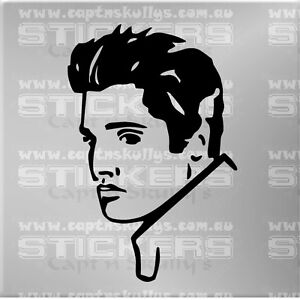 ELVIS-PRESLEY-DECAL-145mmx220mm-15-COLOURS-TO-CHOOSE