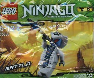 LEGO-Ninjago-30088-RATTLA-Raritaet-Hypnocobra-selten
