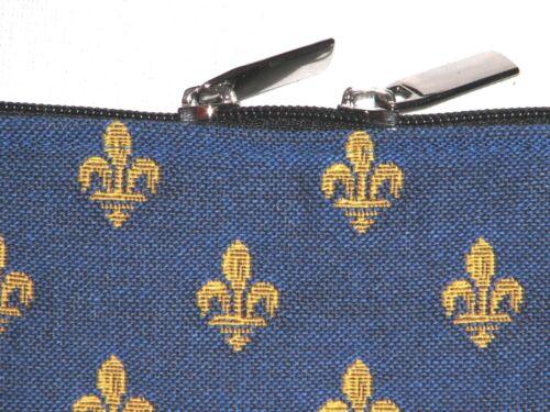 10216 x 36cm Lys Fleur blu 24cm De tappezzeria stile Malta belga di Borsa 4BTqB7
