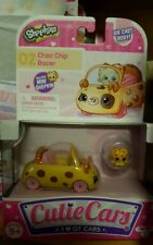 Shopkins Cutie Cars 02 Choc Chip Racer & Mini Shopkin Die Cast