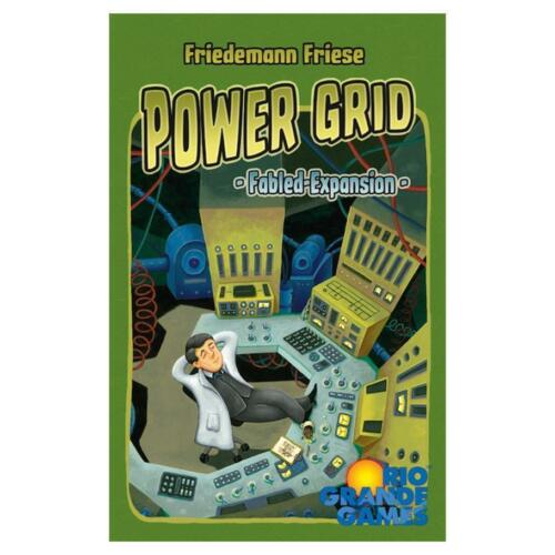 Power Grid Fabled Expansion Board Game Strategy Rio Grande Games RIO548