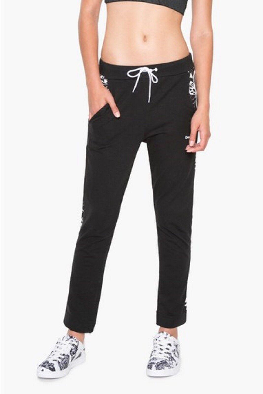 Desigual Sport -  ocio pantalones  sweatpant _ exorbidance  estrella negra de f s  venta de ofertas