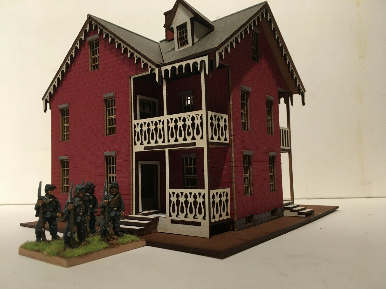 NEW  28mm Gettysburg 'The Carrie Shead House' prepainted  kit.