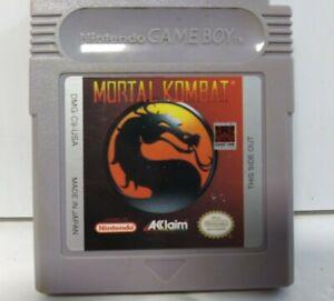 Mortal Kombat - Nintendo Game Boy
