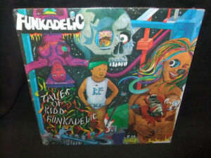 Funkadelic-Tales-of-Kidd-Sealed-New-Vinyl-LP-1976-Reissue-Bernie-Worrell