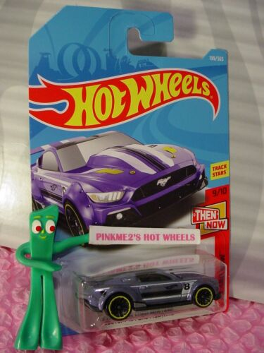CUSTOM /'15 FORD MUSTANG #199✰lavender;j5✰Then now✰2018 i Hot Wheels WW CASE J//K
