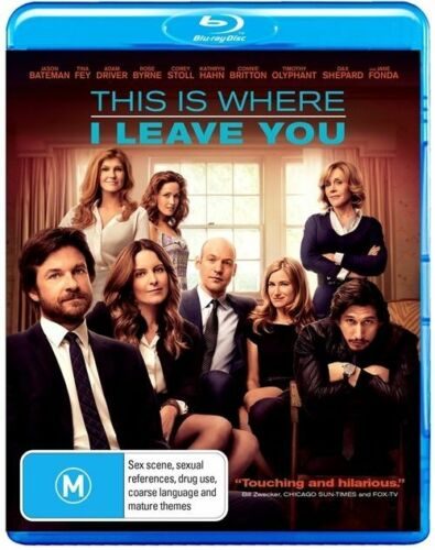 1 of 1 - This Is Where I Leave You    Blu-Ray Only Region B
