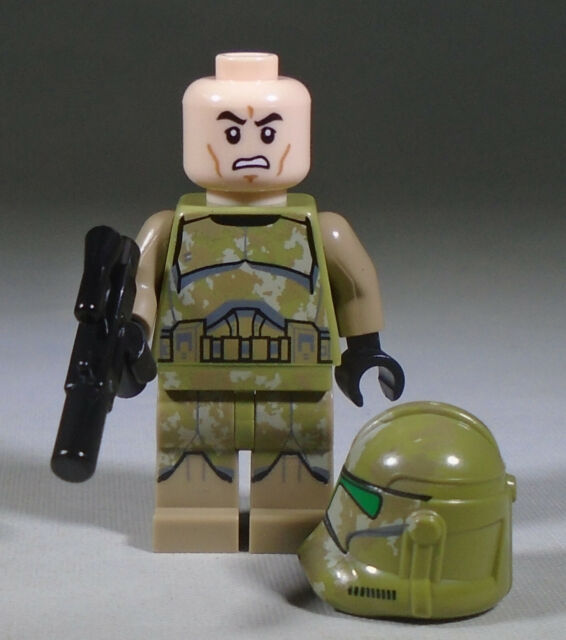 Lego Star Wars Episode 3 41st Kashyyyk Clone Trooper Minifigure Sw0519 75142 For Sale Online Ebay