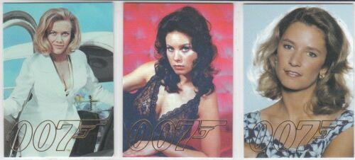 Autogramme /& Reste James Bond 50th Jubiläum 1 gold Gallerie Einzel Karten 2