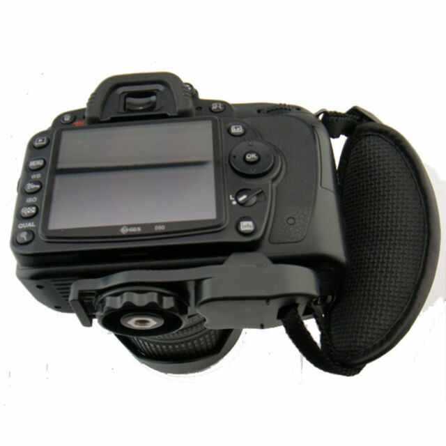 Camera Bag PU Leather Strap Hand Grip Camera Leather Wrist Strap Black