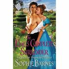 The Earl's Complete Surrender: Secrets at Thorncliff Manor by Sophie Barnes (Paperback, 2015)