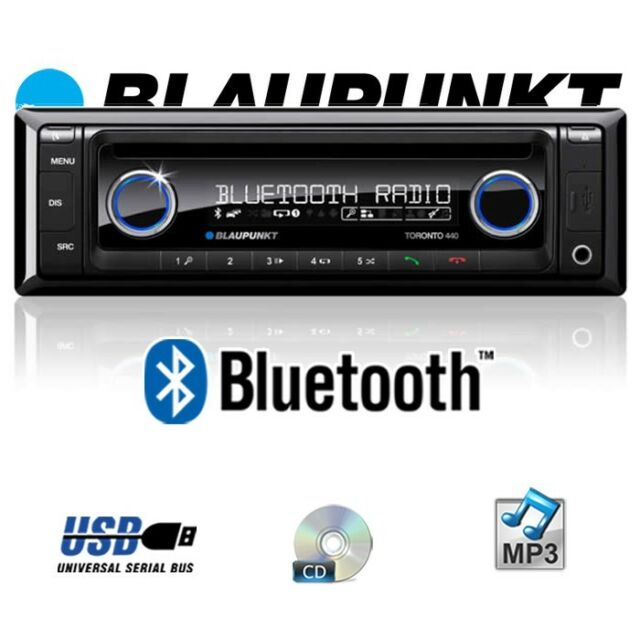 blaupunkt toronto 440 bt bluetooth auto stereo radio cd. Black Bedroom Furniture Sets. Home Design Ideas
