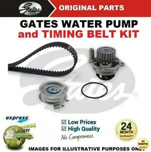 GATES WATER PUMP & TIMING BELT KIT for SEAT EXEO ST 1.6 2009-2010