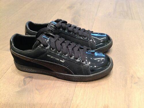 Clyde Sergio Donna Vernice Sneakers Puma Rossi scamosciato qOxw10EZx