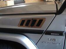 MERCEDES W463 CLASSE G wagon LATERALE PARAURTI Cornici in cromo