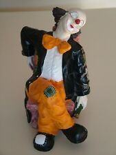 lustiger Clown Deko Höhe ca. 16 cm