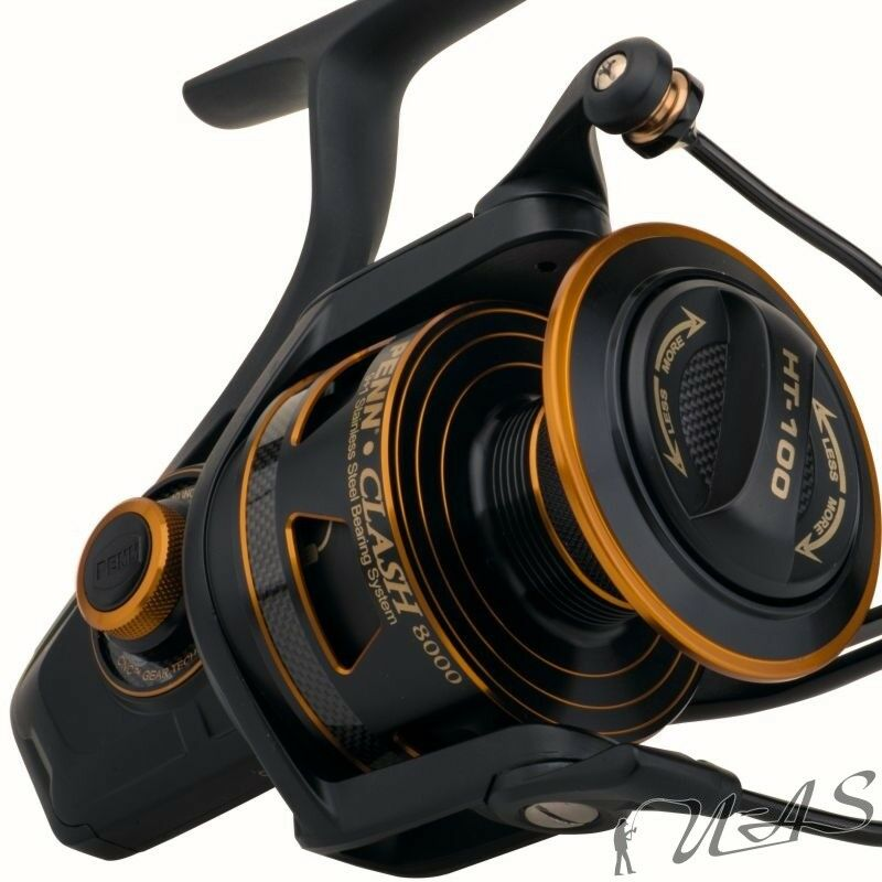 PENN CLASH 6000 SPIN REEL TOP ALUMINIUM GROSSFISCH ROLLE ROLLE SALZWASSER ROLLE ROLLE KVA 8d75fd