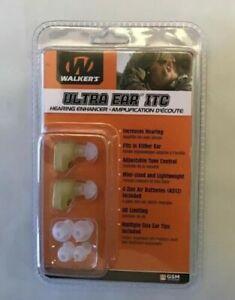 WALKER/'S ULTRA EAR ITC HEARING ENHANCER Brand New Retail Package!