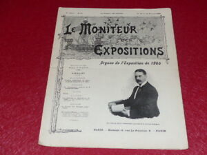 REVUE-EXPOSITION-UNIVERSELLE-1900-LE-MONITEUR-DE-1900-N-47-FEVRIER-1899