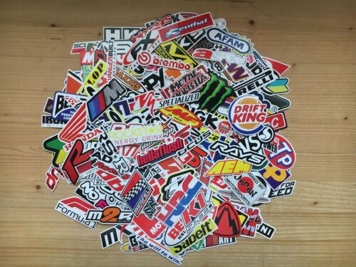 course auto marques parts bike logos sport Lot de stickers moto sponsors