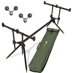 Supreme Carp Fishing Pod Adjustable Buzz Bars for rod reel Inc Rod Rests