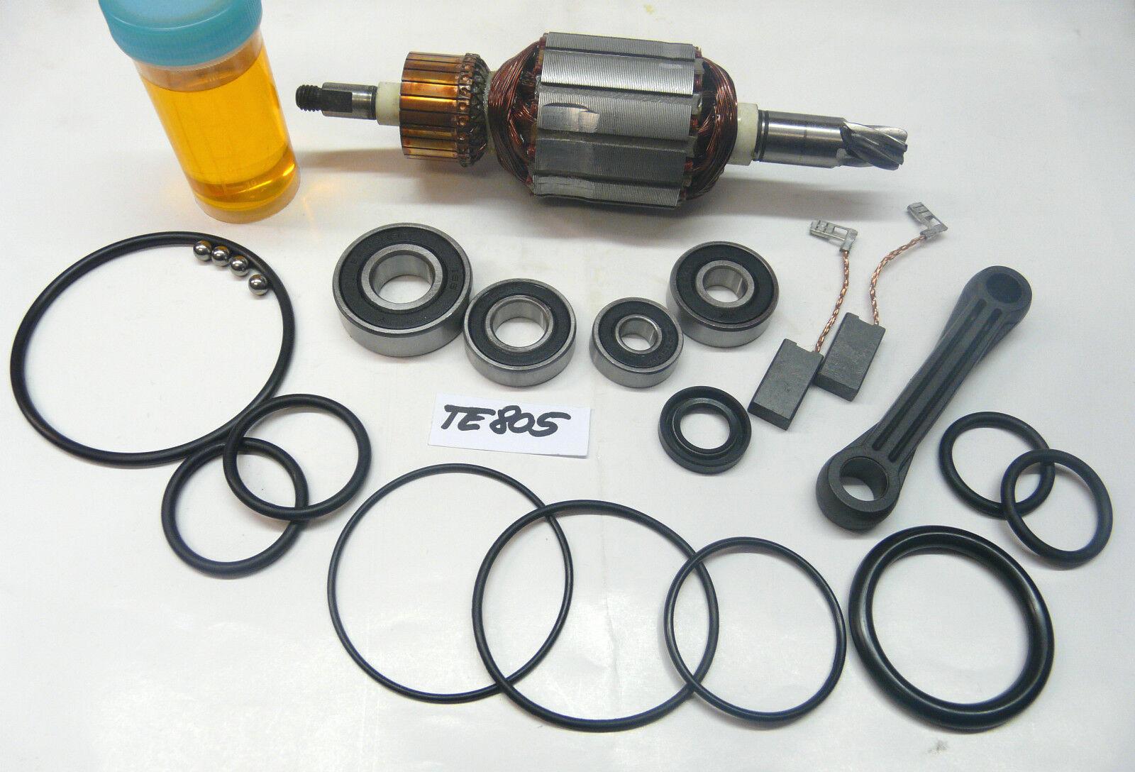 Hilti TE 805 Anker, Rotor mit Reparatursatz + Pleuel