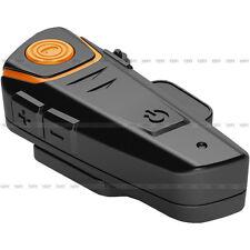 BT-S2 Motorcycle Helmet BT Bluetooth Intercom Headset Handsfree FM Radio 1000M