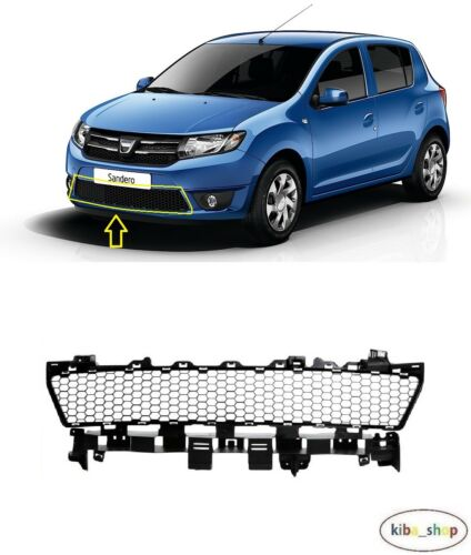 FOR DACIA SANDERO 2012-2019 NEW FRONT BUMPER LOWER CENTER GRILL GRILLE