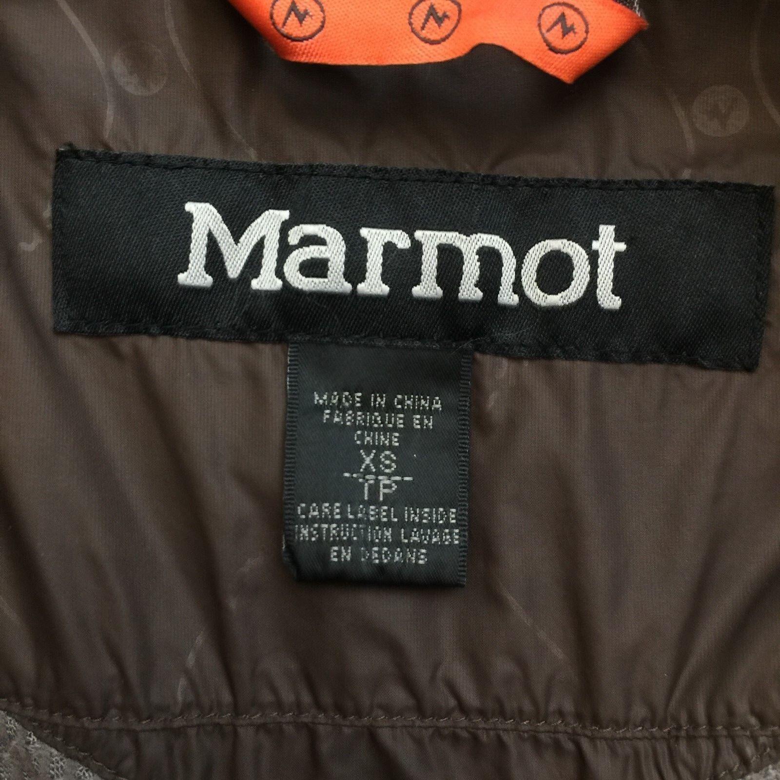 MARMOT GORE-TEX PERFORMANCE PERFORMANCE PERFORMANCE SHELL RUST BROWN WOMEN'S  XS 90ef64