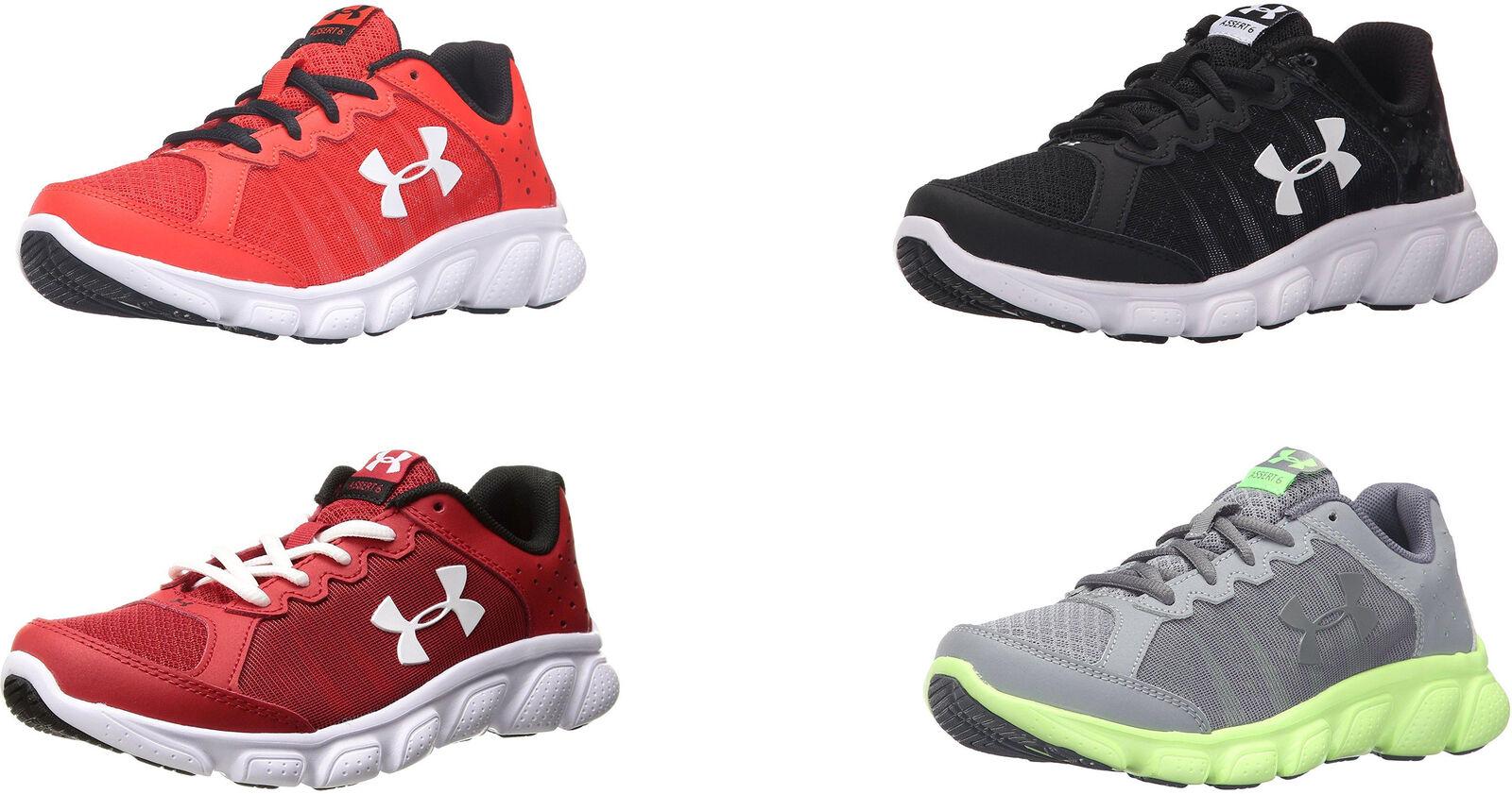 new arrivals 245fd ecd84 Under Armour Boys  Pre School Assert 6 Shoes, 4 Colors