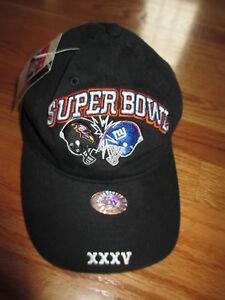 578d71db Details about 2001 BALTIMORE RAVENS vs NY GIANTS Super Bowl XXXV Cap w/  Hologram & Tags
