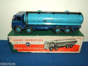 DINKY  SUPERTOYS MODEL No.504  FODEN 14 TON  TANKER  VN MIB