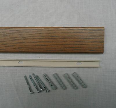 Dark Oak Floor Edging Trim Door Plate Threshold 900mm Ebay