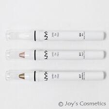 """3 NYX Jumbo Eye Pencil-B(611,604,617) """"Yogurt,Milk,Mocha""""  *Joy's cosmetics*"""