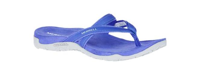 Merrell Terran Ari Post Post Post Baja Azul Cómodo Sandalia Tallas para Dama 5-11   Nuevo  ahorrar en el despacho