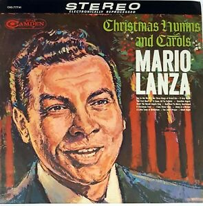 Mario-Lanza-CHRISTMAS-HYMNS-LP-RCA-Record-33-RPM-1963-Vinyl-RARE-2